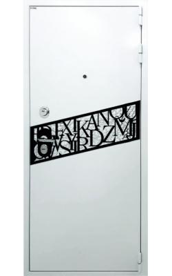 Металлическая дверь Fort Noks Алфавит