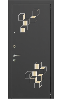 Металлическая дверь Smart chrome